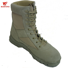 suede leather army tactical shoes men combat military desert boots