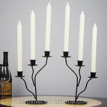 Customized European style Counter top Metal Candle Stand