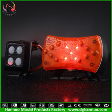 Remote wireless control high quality solar power led warning light