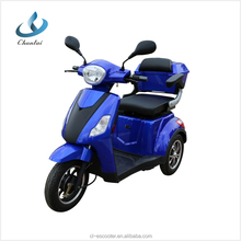 48V 20A 500W motor 3 wheel electric scooter disabled tricycle