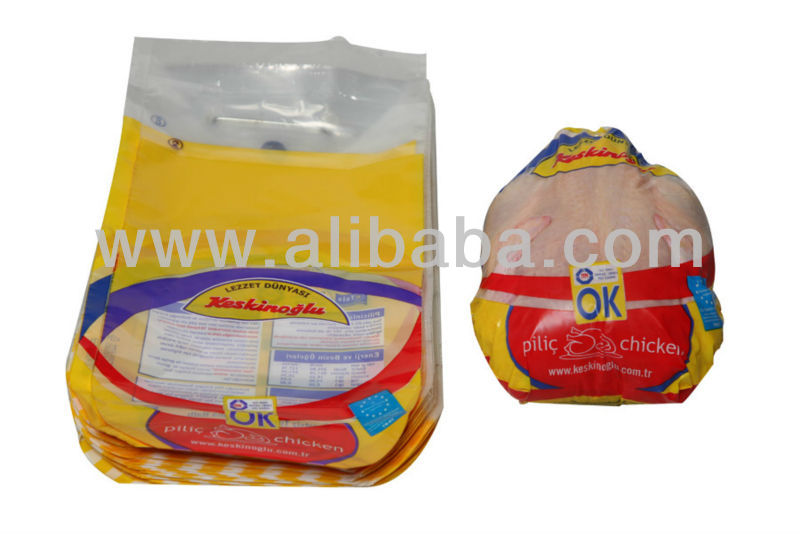 Oval Cut PE Plastic Chicken Bag