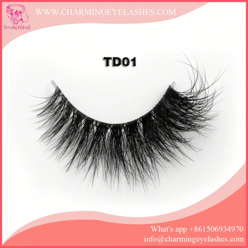 3D Mink False Eyelashes Manufacture Free Lash Samples