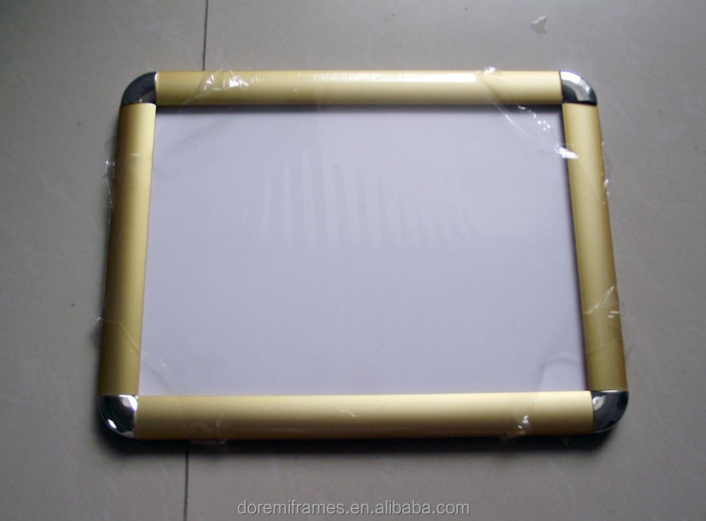 25 mm B2 perfil mitred or round corners aluminum snap photo <strong>frame</strong> for advertising