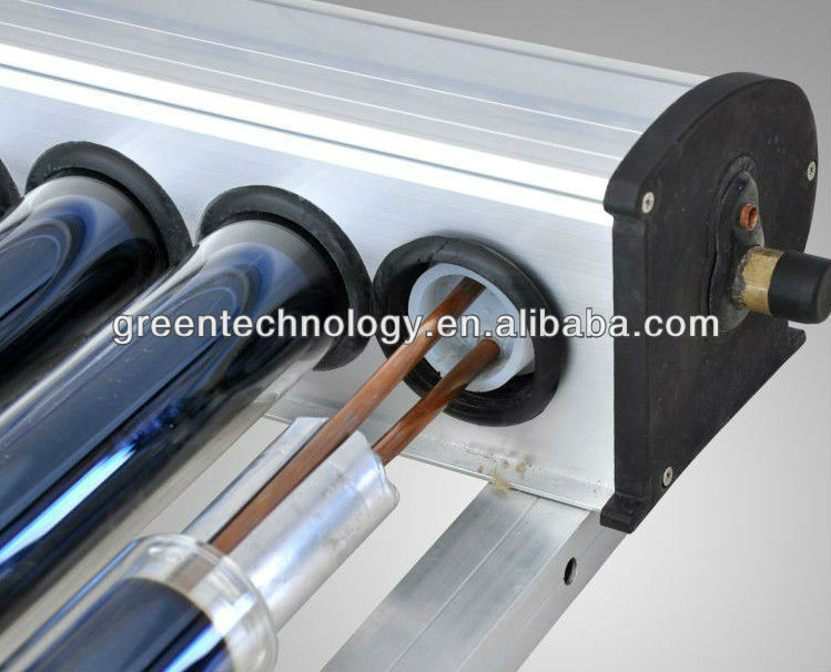 Angle Roof Evacuated Tube Solar Collectors