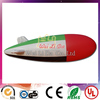 Latest designs giant spacecraft inflatable helium balloon for advertising