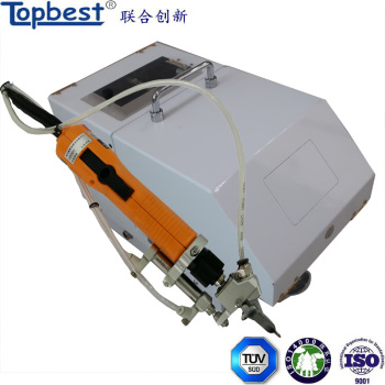 Manual high efficiency self-drilling screw machine with auto feeder