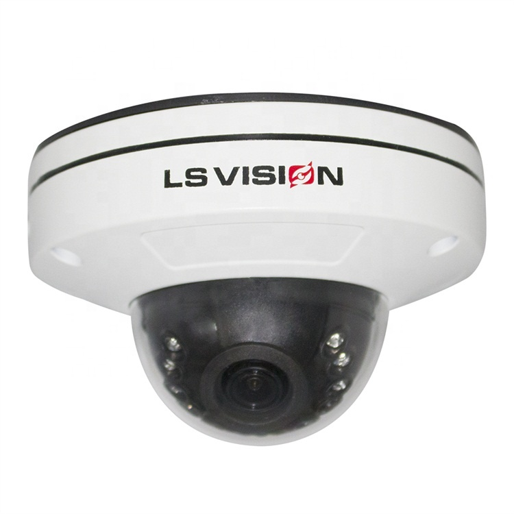 LS VISION Intelligent Algorithms Human Detection Fixed Lens Onvif Audio Starlight 1080P IP POE 2 MP HD Dome <strong>Camera</strong>