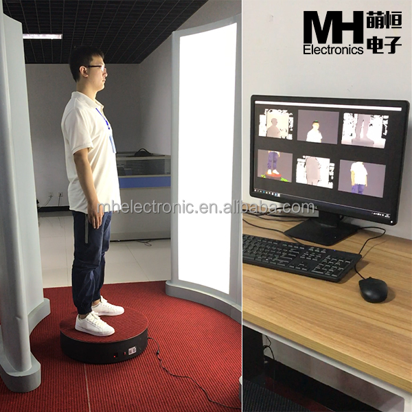 3D Full Body Scanner for Measurements