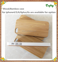new hybrid wooden cell phone case for iphone5s bamboo wood bumper cases