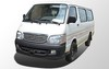 Jinbei passenger mini bus Euro IV Standard 15Seats Gasoline Engine A/C Mini Bus Van