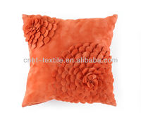 "3D Handmade Pillow case 18""x 18"" Designer floral Cushion Cover"