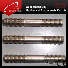 stainless steel 304 316 /A2 A4 double head thread rod stud