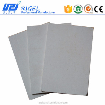 2016 100% Non-asbestos waterproof board Rigel Calcium Silicate board for the villa