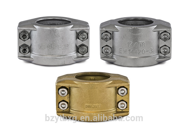 Safety Clamp DIN2817/aluminum/brass camlock couplings/ cam-locks/quick cam and grooved couplings