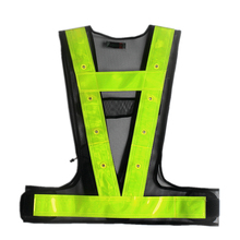 W080A Hot Sale Factory Direct Discount Reflective <strong>Safety</strong> Hi VIS Led With Battery Professional Supplier Made In China