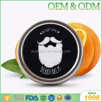Private label 5g 10g beard styling balm men care product mini beard balm