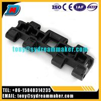 Factory prices vertical axis road-header SANY grouser bar track shoe in china