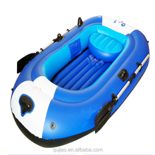 chin high quality cheap price 1 person 2 person PVC fabric inflatable kayak boat for rescuing, fishing, sailing for sale