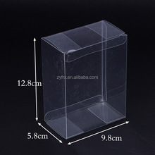 Custom folding clear plastic soap packaging boxes wholesales