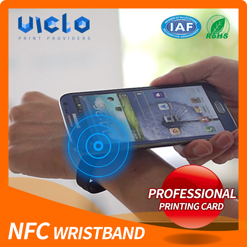 Factory supply nfc led wristband from China famous supplier