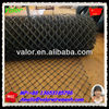 2014 High Quality Black Vinyl Coated Chain Link Fence Low Carbon Frames