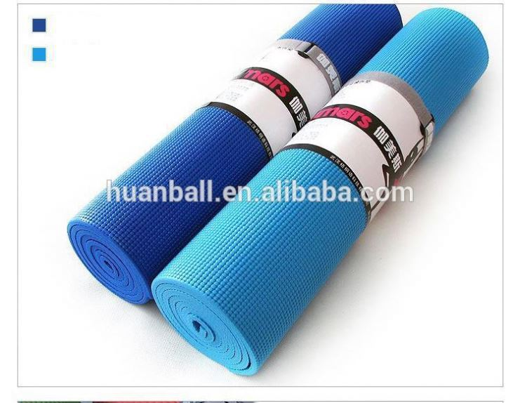 3mm Factory direct supply High quality PVC exercise yoga mat