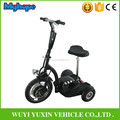2018 hot selling zappy travel 3 wheel electric mobility scooter with 350W Brushless hub motor for old man