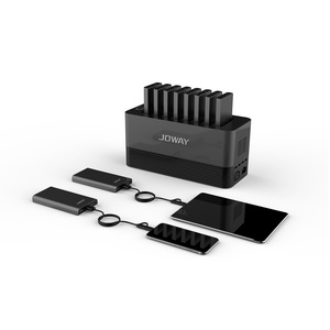 Commercial mobile portable power bank charging station