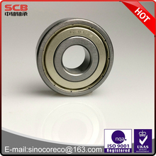 Single row deep groove ball bearing 6301ZZ 12*37*12mm