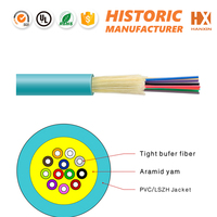 indoor Military Tactical Breakout fibre optic cables 6 core SM/MM fiber for cabling systems in Europe market