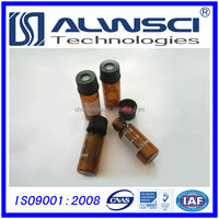 2ml glass vial with Natural rubber FEP septa very competitive price for used hplc system