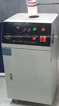 Hot selling Moveable Cabinet Induction Melting Machine