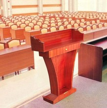 Wooden Lecture table, Church podium, Hotel podium