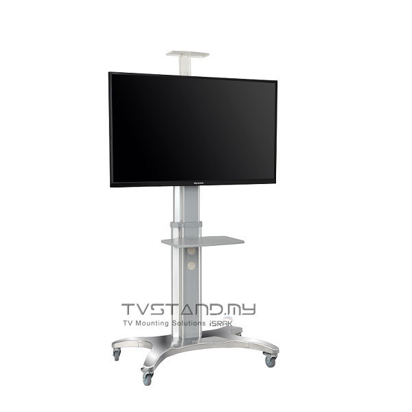 "Portable Aluminum TV Stand ( LED/LCD/Plasma )Mount upto 40""-60"" - TS112-SVR"