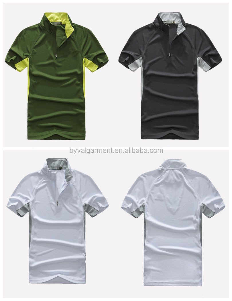 Byval OEM customer design 100%polyester quick dry t-shirts sports t shirts