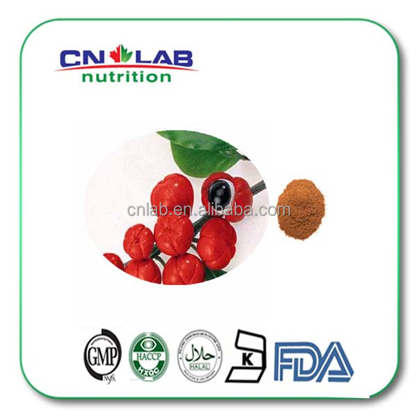 Manufacture supply Kosher/Halal/ISO 100% natural guarana,Maues-Sateres,guarana extract