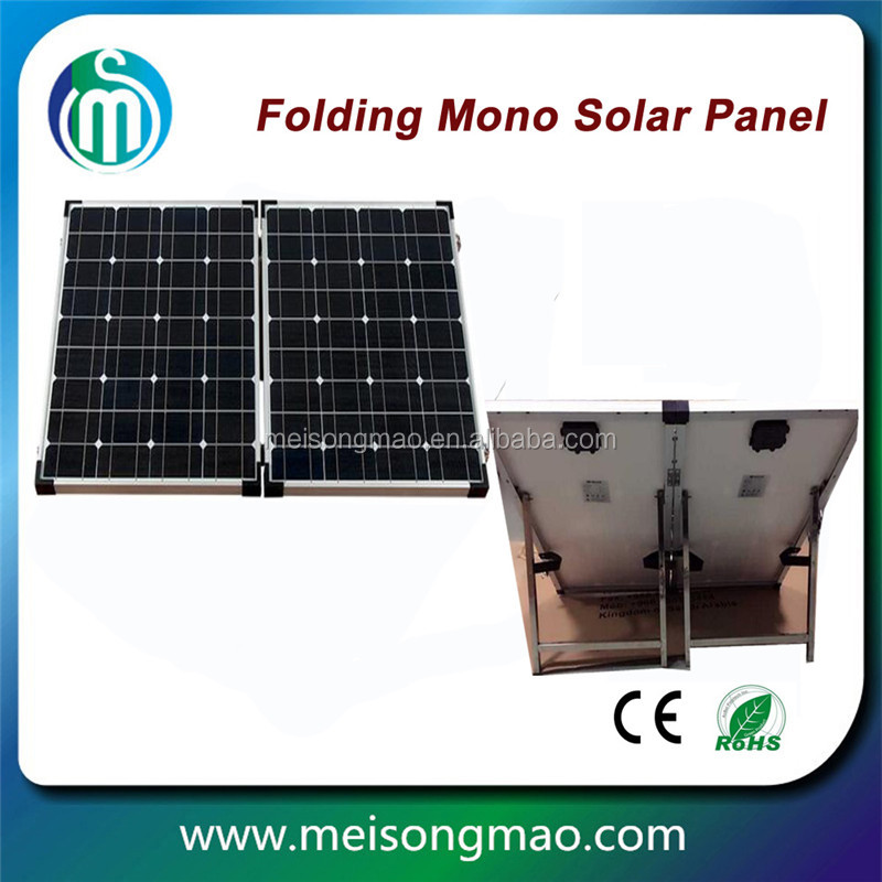 New latest Mono Crystalline Cells Portable 180W folding solar panel for Camping, Fishing,Caravan & Boating
