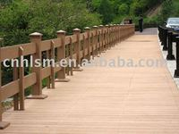 wood composite outdoor decking floor