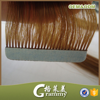 New Style Sliky Straight Color Human Hair hair extension adhesive tape hair