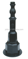 Factory prices of aluminum A356 lamp pole base as the drawing