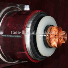 high quality rated voltage 220kV XLPE insulated extra-high voltage power cables ce certificate