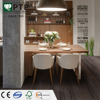 new model raised floor solid teak laminated parquet flooring