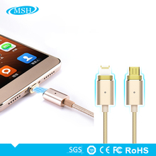 2 In 1 2018 Bulk Fast Charge Android Data Cable Custom Andriod Mobile Phone Smart Charging Micro USB Charger Cable