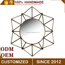 Modern Metal Home decor Creative Wall hanging/ Wall Mirror