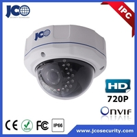720p zooming lens icr ir ip66 onvif ip dome fake security camera rohs