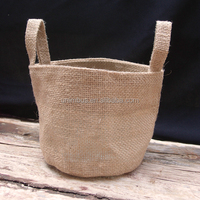 "4""x6"" Natural Burlap Candy Sack Jute Favor Bags Small Jute Gift Bag For Wedding Party Favor"