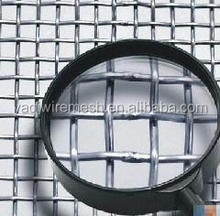 Durable Heavy Duty Barbecue Stainless Steel Crimped Wire Mesh
