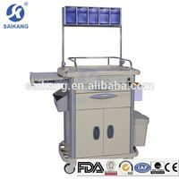 ISO9001&13485 Factory Durable Durable Nursing Hand Trolley