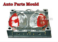 Car LED turn lamp plastic injection mould,lamp mold supplier in Taizhou