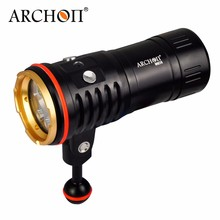 ARCHON WM26 100M High Power Waterproof LED Video Light Fill Night Light Diving Underwater Light for Gopro